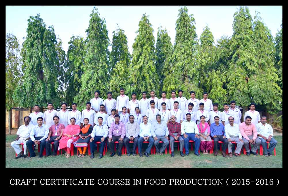 Craft certificate course in Food production